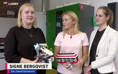 Solrødpiger kvalificerer sig til World Robot Olympiad i Costa Rica