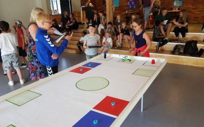 Danmarks første WRO WeDo turnering er afholdt med stor succes